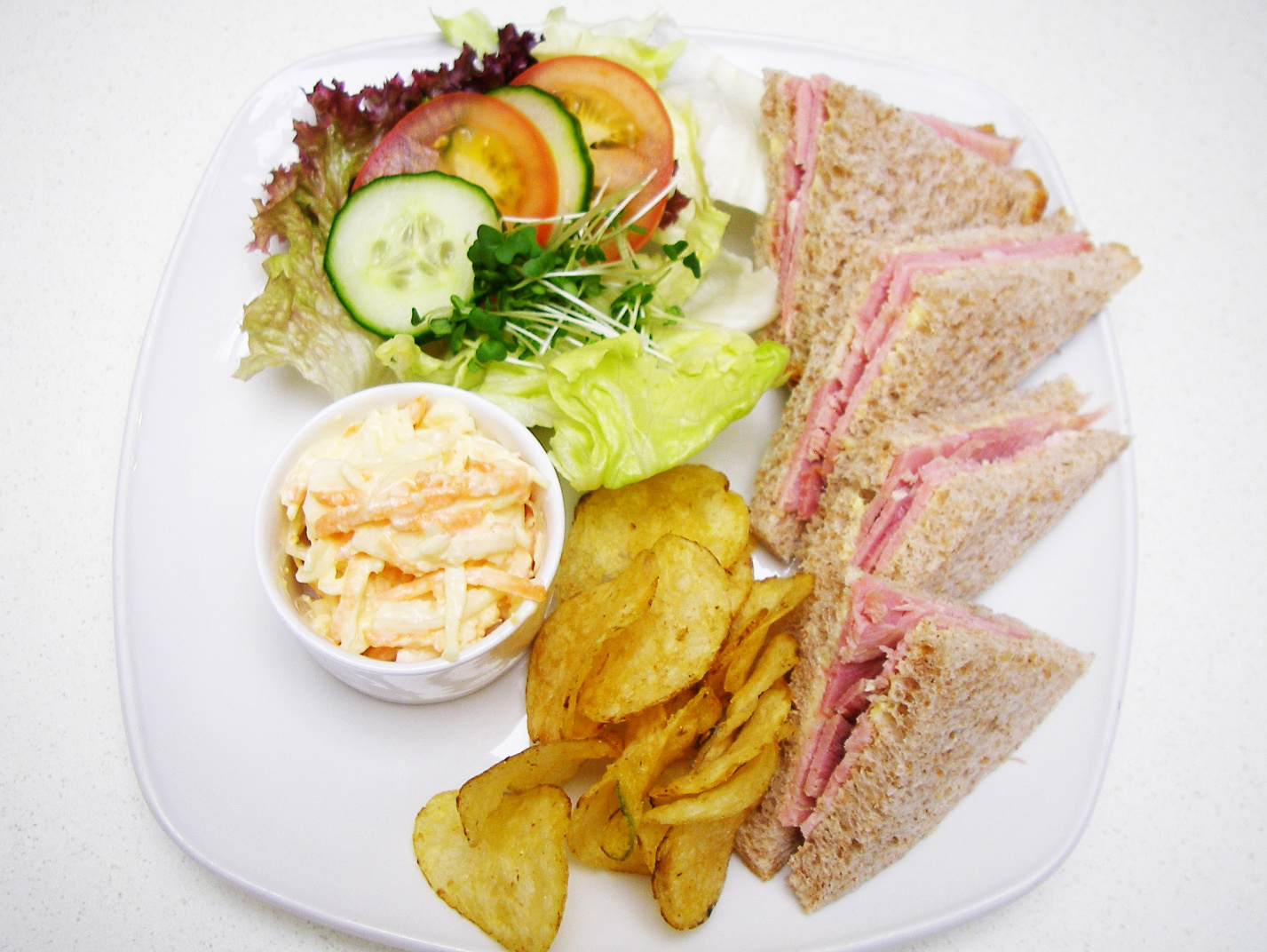 Handmade lunch at Emma's Coffee Lounge Scarborough