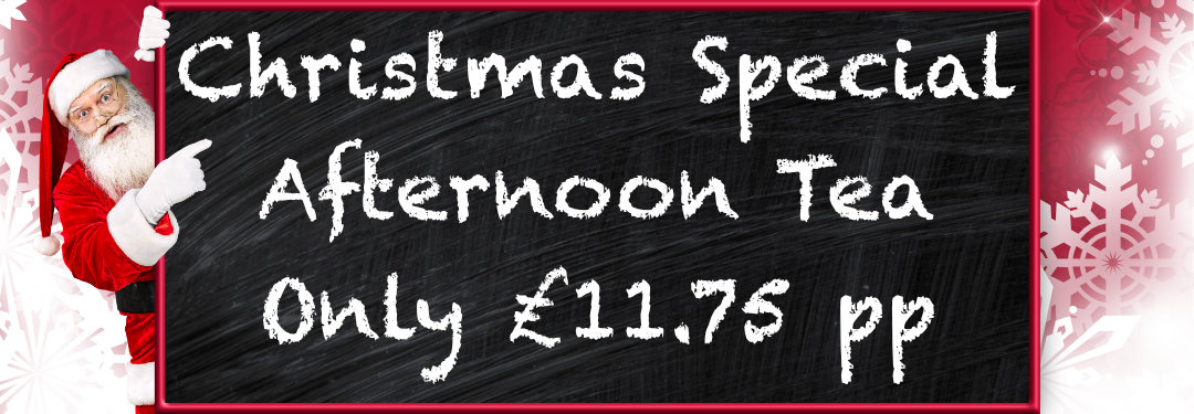 Christmas Special Afternoon Tea at Emma's Coffee Lounge, Scarborough